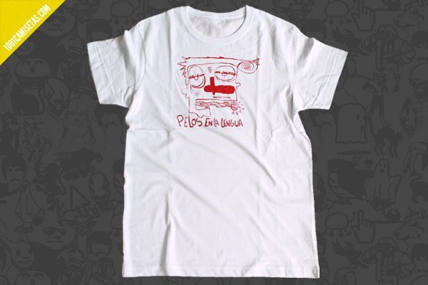 Camisetas artesanales monocromo