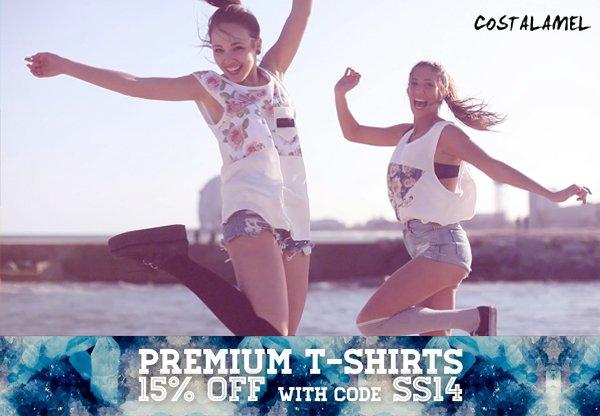 Camisetas Costalamel rebajas