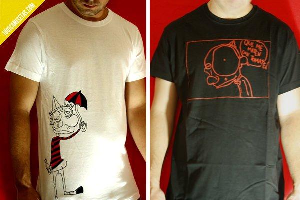 Camisetas gráficas Monocromo