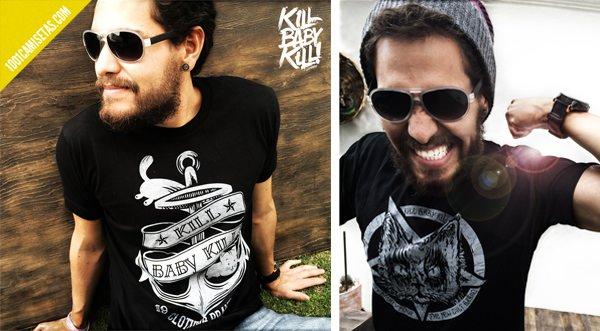 Camisetas Kill baby kill!