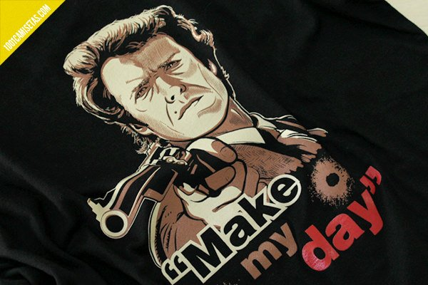 Camiseta clint eastwood