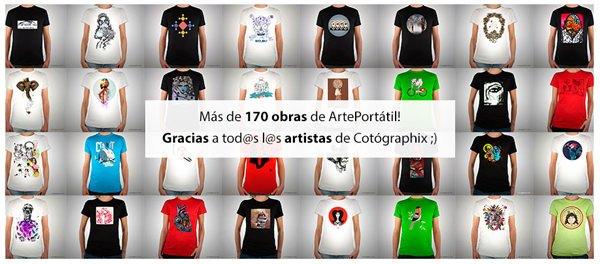 Camisetas cotographix
