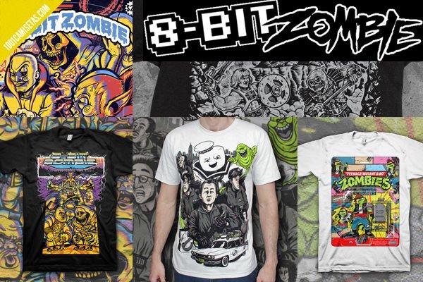 Camisetas 8bitzombie