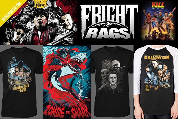Camisetas fright rags
