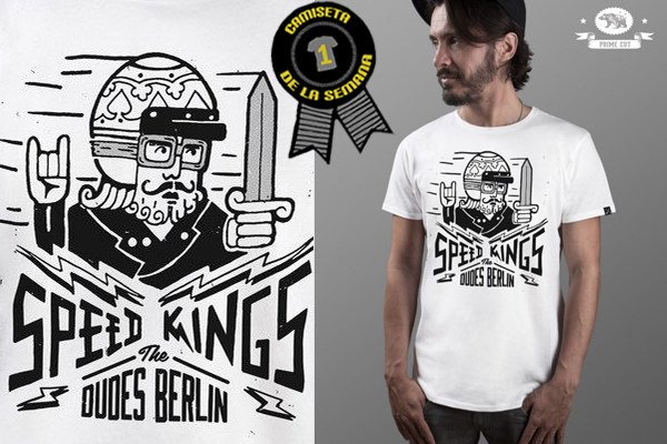 Camiseta de la semana speed kings