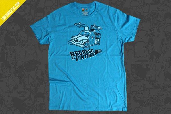 Camiseta regreso al vintage