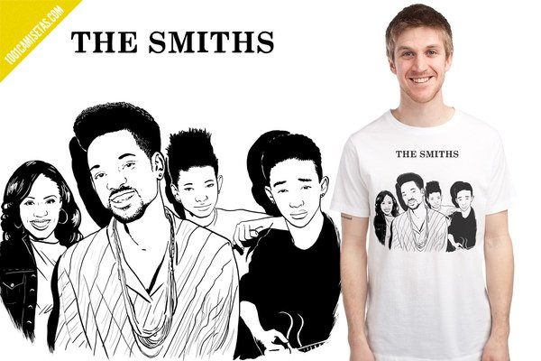 Camiseta the smiths family