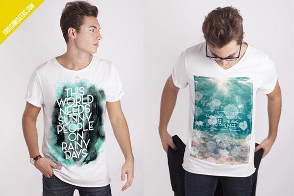 Camisetas graficas costalamel