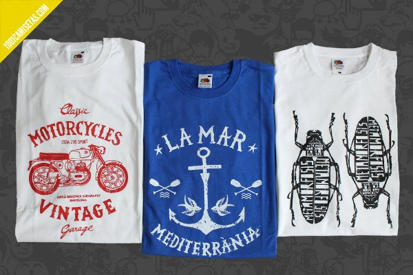 Camisetas graficas vintage