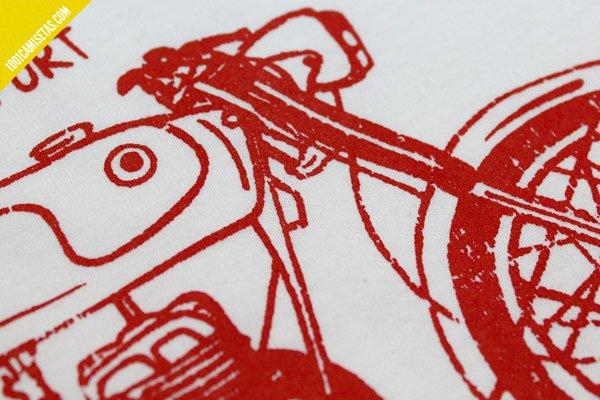 Serigrafia 1 tinta