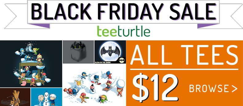 Tee turttle black friday