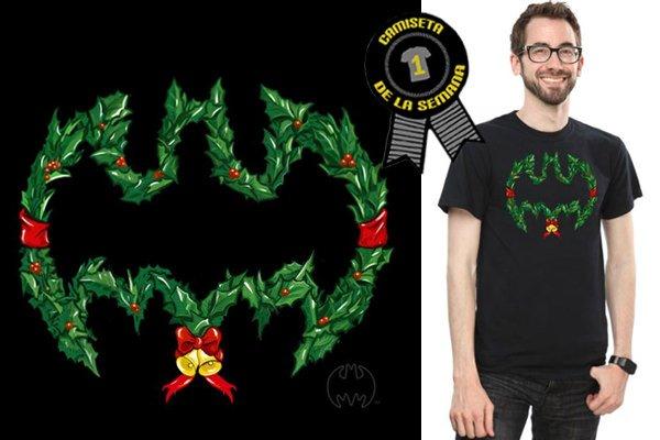Camiseta batman navidad