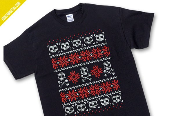 Camiseta ugly sweater
