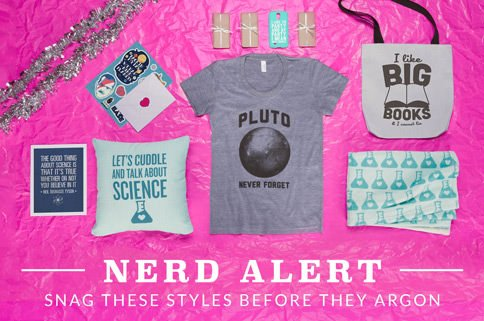 Camisetas nerds