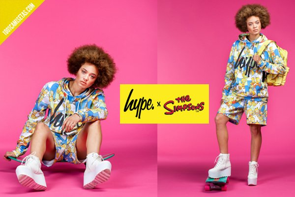 Hype x the simpsons