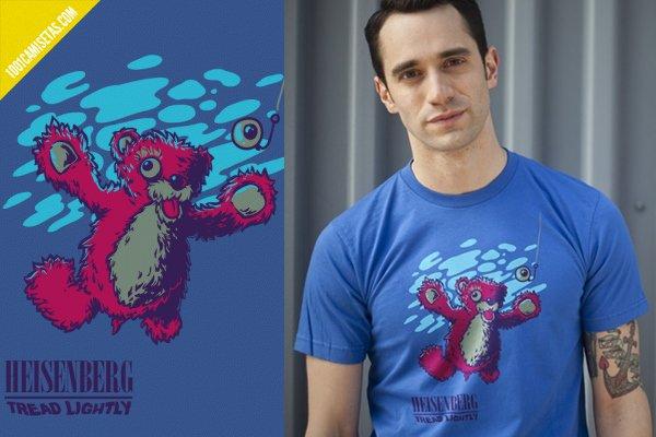 Camiseta heisenberg nirvana