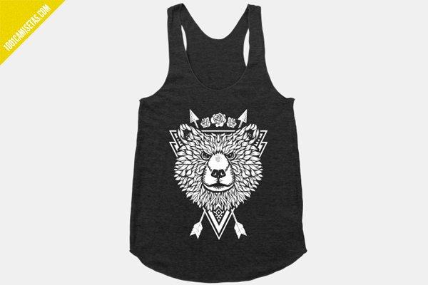 Camiseta tirantes oso