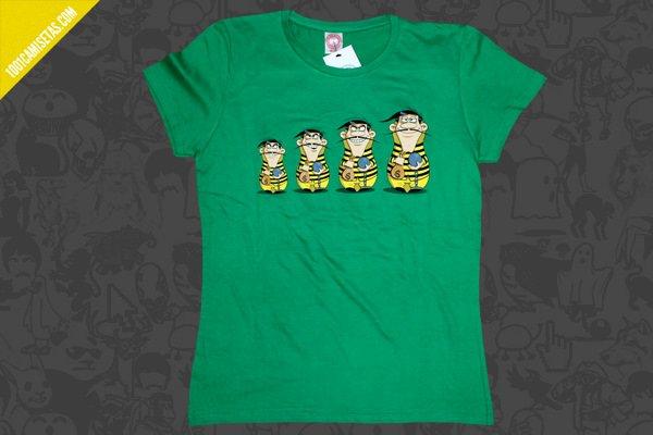 Camisetas hermanos dalton