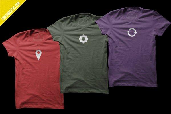 Camisetas iconos
