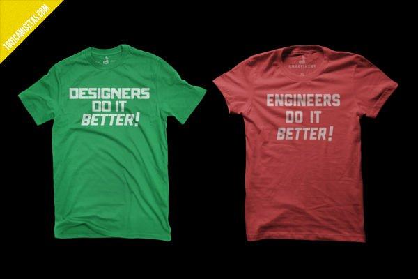Camisetas ingenieros