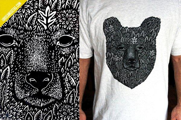 Camisetas oso serigrafia