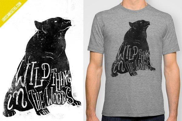 Camisetas osos