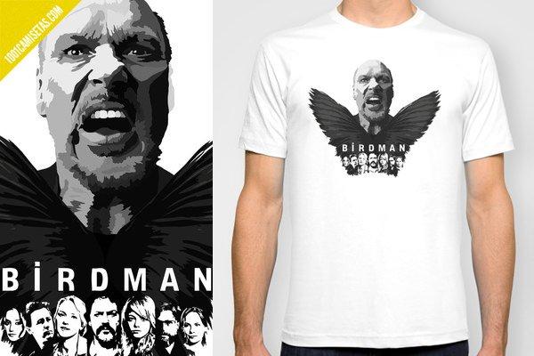 Birdman camiseta