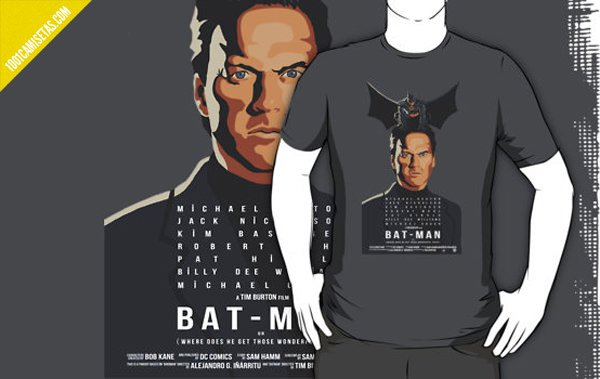 Camiseta birdman batman