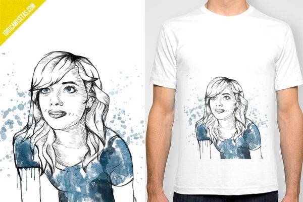 Camiseta Birdman Emma Stone
