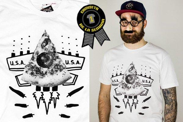 Camiseta de pizza