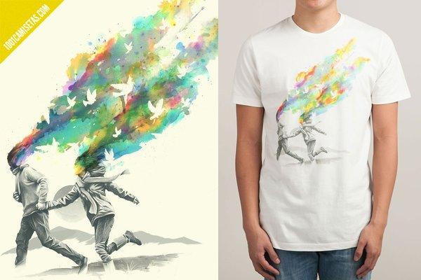 Camiseta enamorados