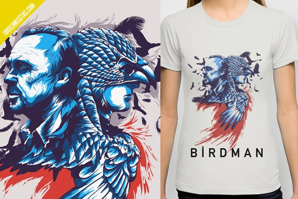 Camiseta pelicula Birdman