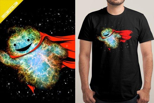 Camiseta superman divertida