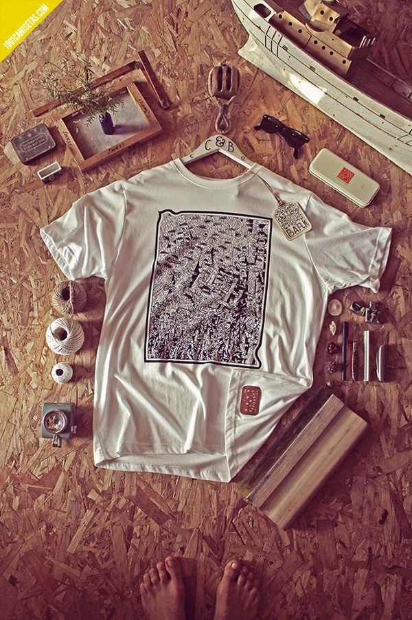 Camiseta untold woodland