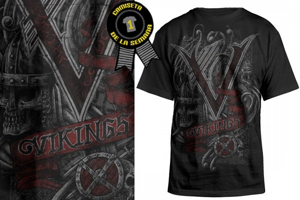 Camiseta vikings serie