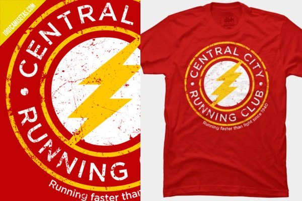 Camisetas divertidas flash
