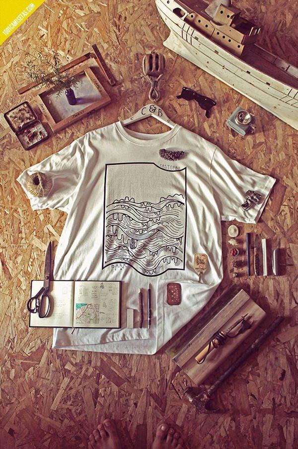 Camisetas maritimas