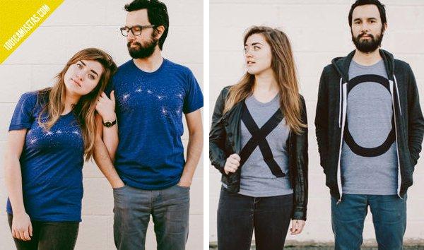 Camisetas para parejas