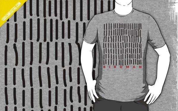 Camisetas pelicula birdman