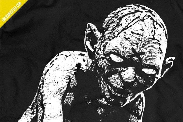 Camiseta gollum