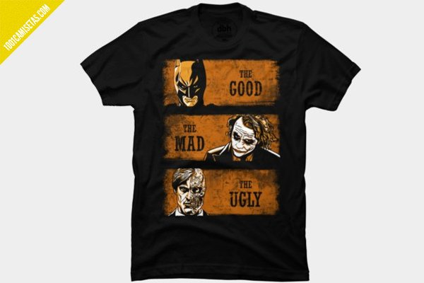 Camiseta joker batman 2caras