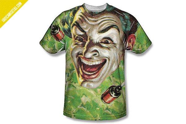 Camiseta joker cesar romero