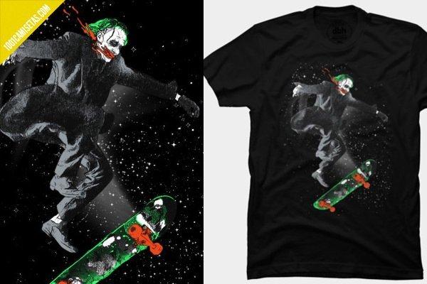 Camiseta joker skate