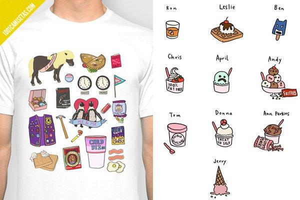 Camiseta parks and rec