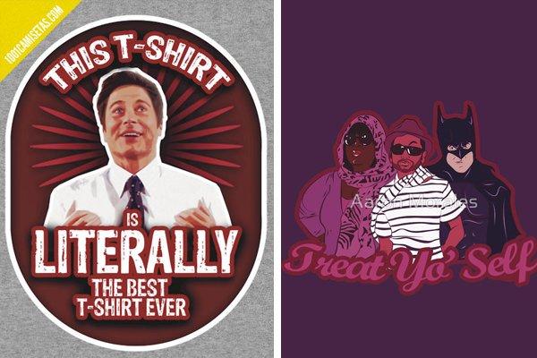 Camiseta treat yo self