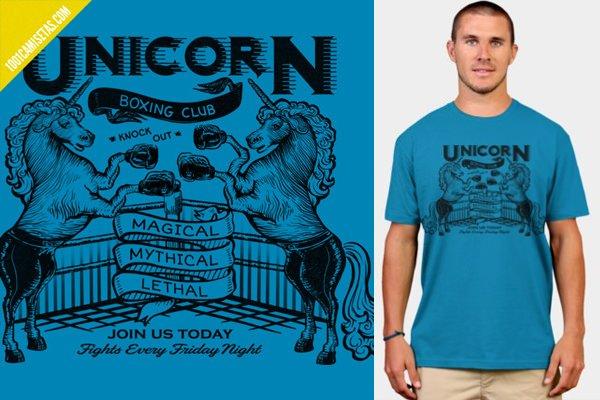 Camiseta vintage unicornio