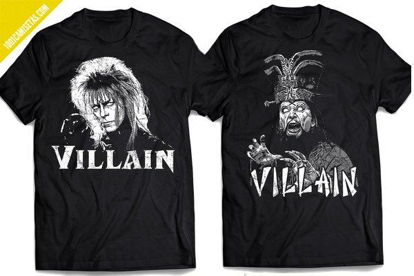 Camisetas de villanos