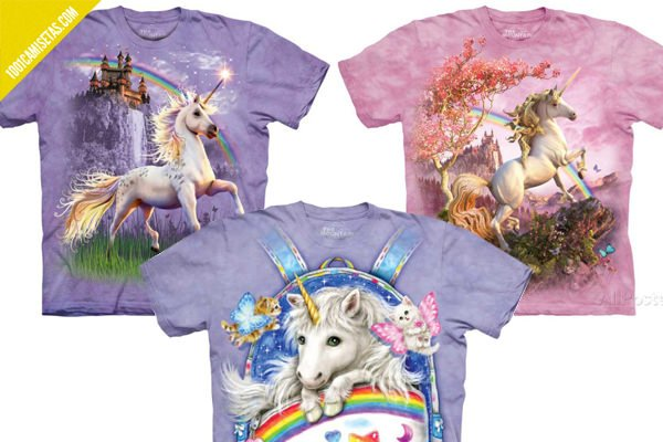 Camisetas horteras unicornios