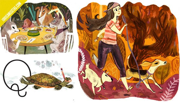 Meg Hunt animales