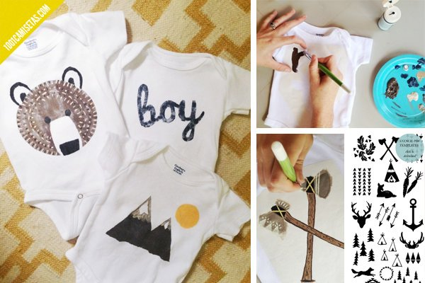Tutoriales camisetas infantiles